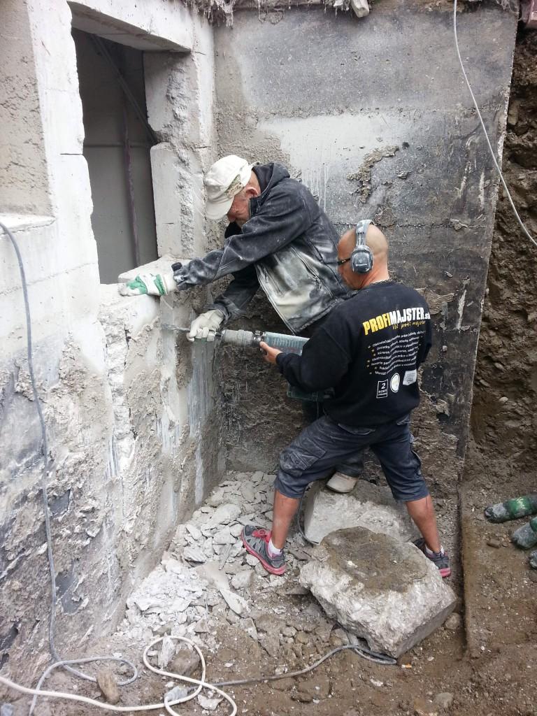 buracie prace vrtanie